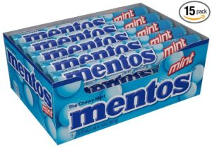 Mentos Rolls, Mint, 1.32 Ounce (Pack of 15)