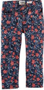 OshKosh B'gosh Little Girls' Print Woven Pants (Toddler Kid)