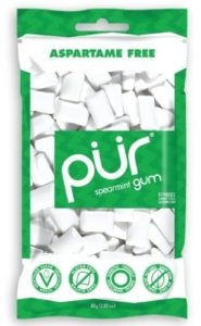 PUR Gum Aspartame Free, Spearmint, 2.8 Ounce
