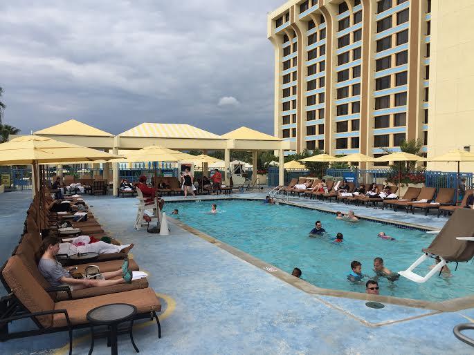 Paradise Pier Pool