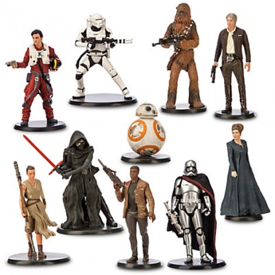 Star Wars The Force Awakens Deluxe Figure Play Set