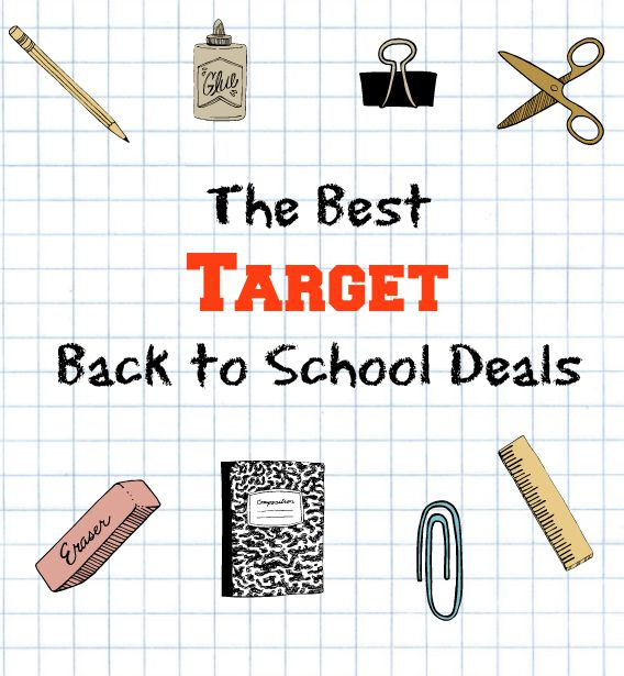 The Best Target Back to School Deals: Updated Weekly through August!