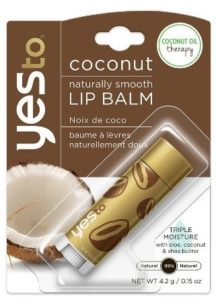 Yes to Coconut Naturally Smooth Lip Balm, 0.15 Ounce