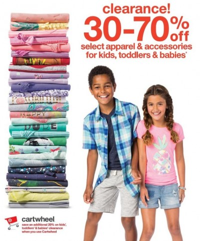 target kids clearance