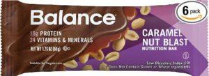 Balance Bar® Caramel Nut Blast, 1.76 ounce bars, 6 count