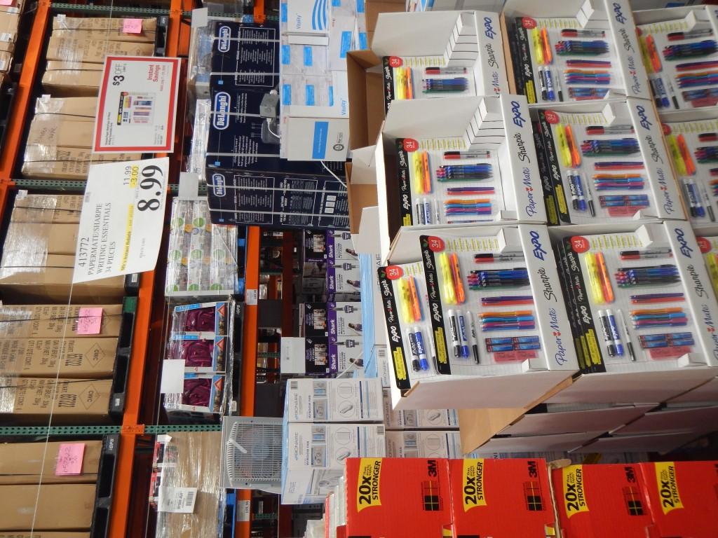 school supplies at costco