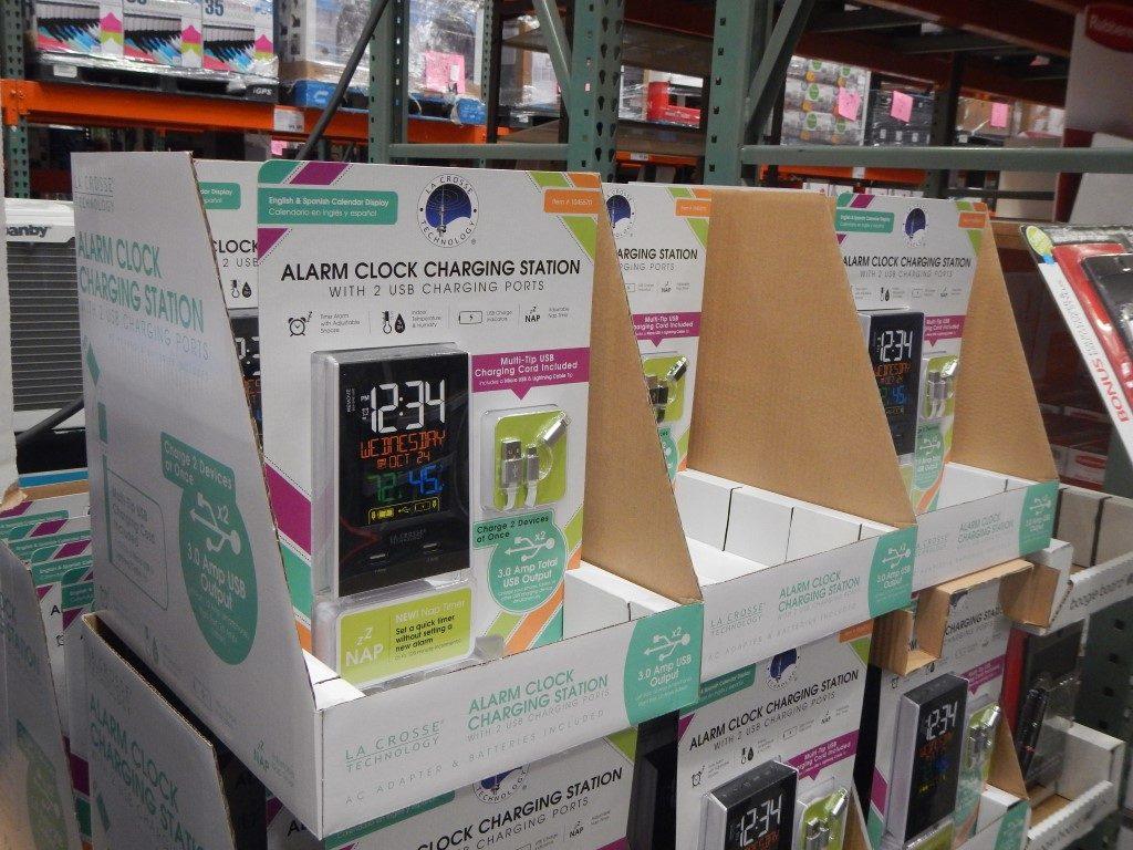 Alarm Clock Charging Station at Costco