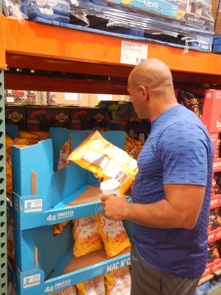 Unhealthy Snacks at Costco
