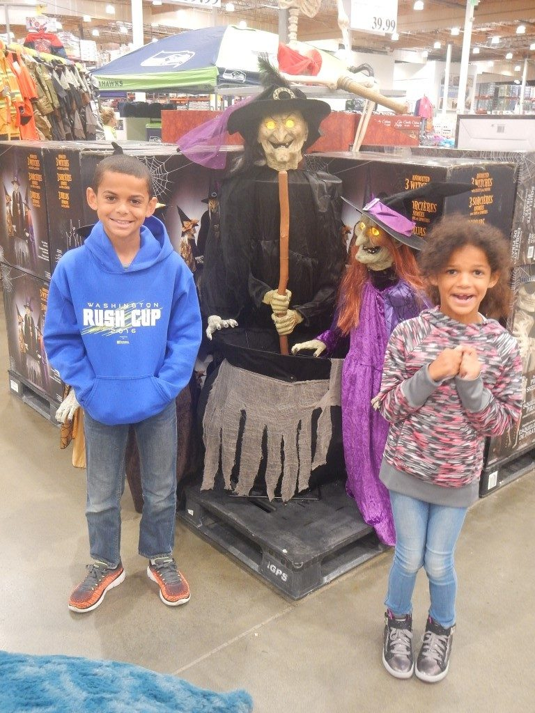 Halloween Display at Costco