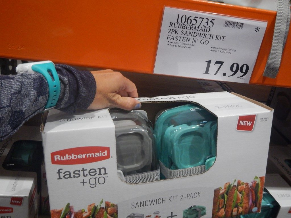 Rubbermaid Fasten + Go Lunchbags