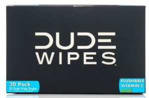Dude Wipes, Flushable Single Moist Wipes, with Aloe Vera (30 Each, Pack of Two)