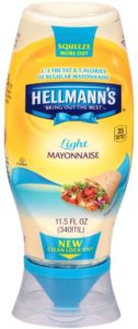 Hellmann's Squeeze Light Mayonnaise Squeeze 11.5 oz