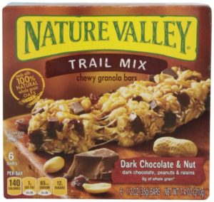Nature Valley Chewy Trail Mix, Dark Chocolate and Nut, 7.4 oz, 6 Pack