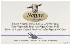 Nature by Canus Goat's Milk soap, Lavender, 5 Ounce