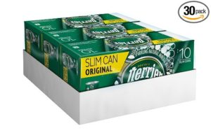 Perrier Sparkling Natural Mineral Water, Original, 8.45 Ounce (Pack of 30)