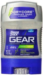 Speed Stick Gear Gel Antiperspirant, Fresh Force, 3 Ounce