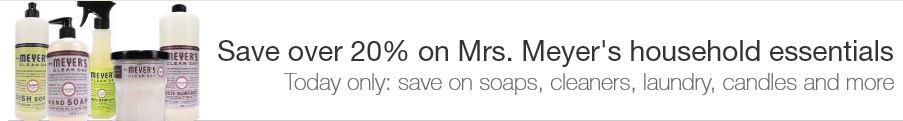 amazon mrs. meyer's