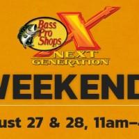 Bass Pro Shops: Next Generation Weekend – Free Kid Activities (Aug 27-28)