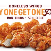 Sonic Drive-In: Buy one, get one free Boneless Wings (through 8/25)