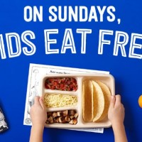 Chipotle: FREE Kids Meals on Sundays in September