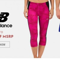 6pm: New Balance Workout Apparel up to 79% off + FREE shipping!