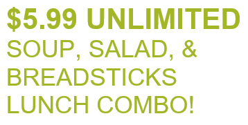 Olive Garden Unlimited Soup, Salad