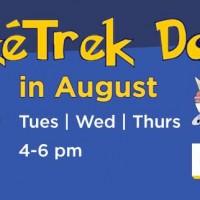 Northwest Trek: Half-Off Admission on PokéTrek Days in August