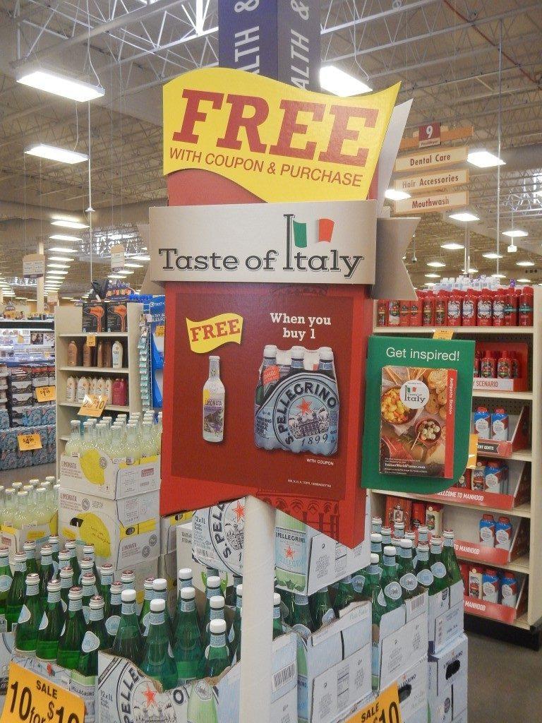 Taste of Italy Pellegrino
