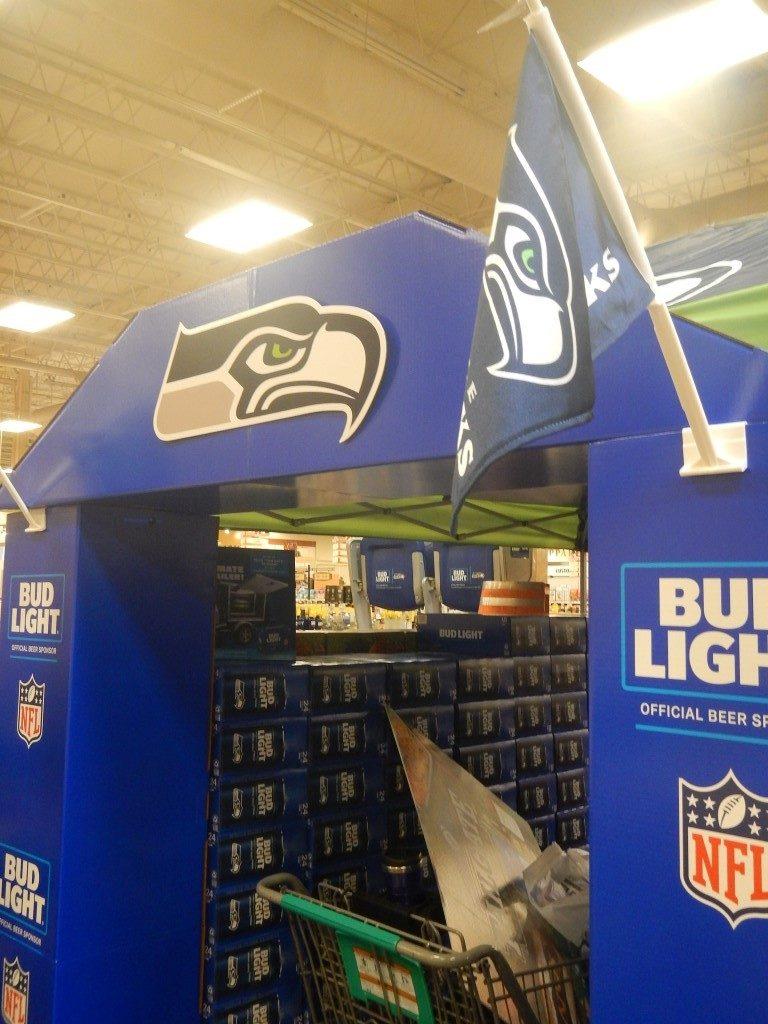 Seahawks Display