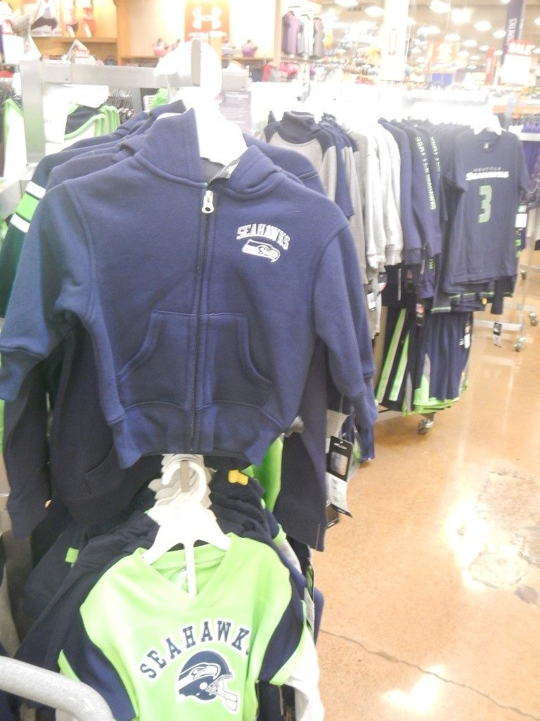Seahawks Apparel at Fred Meyer