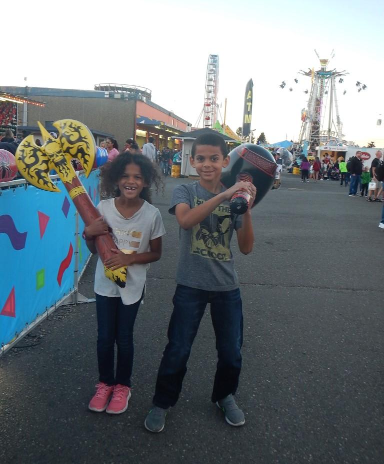 Washington State Fair Games
