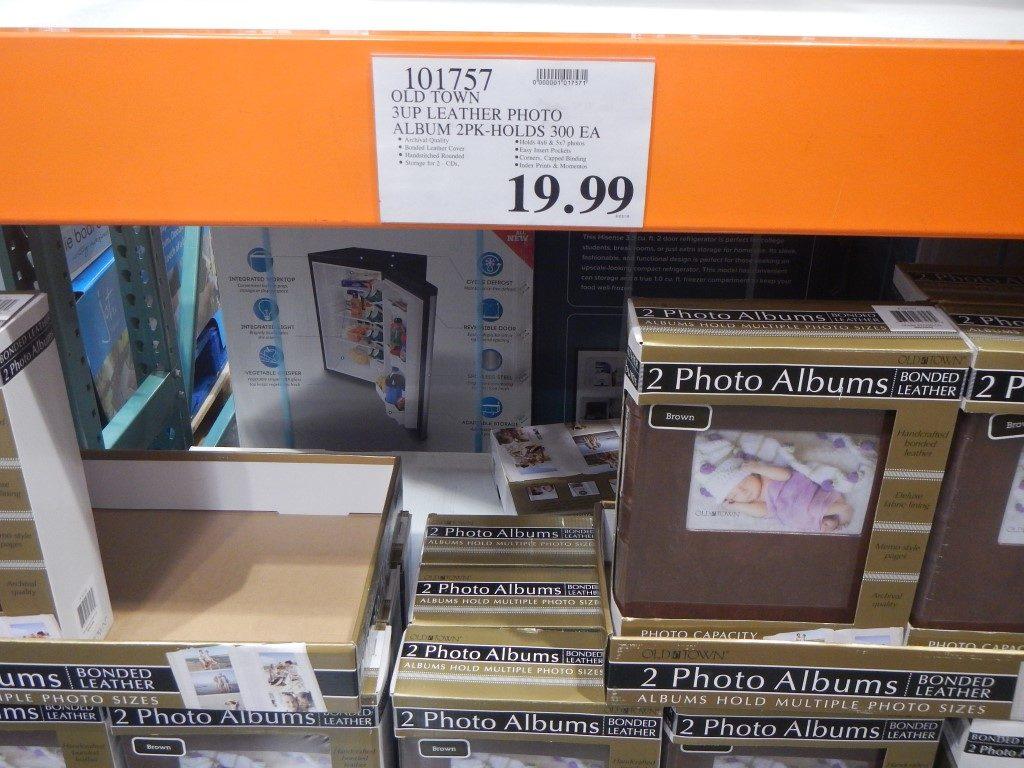 Photo Album 2 pack at Costco