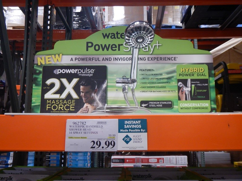Power Pulse Shower at Costco