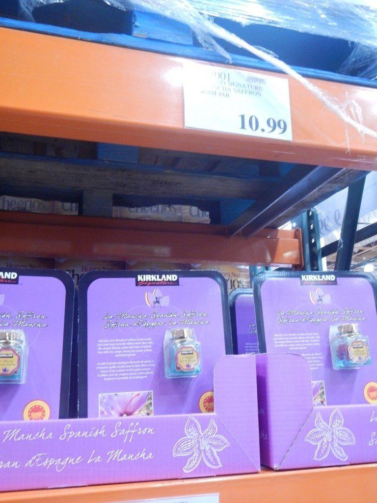 Saffron at Costco