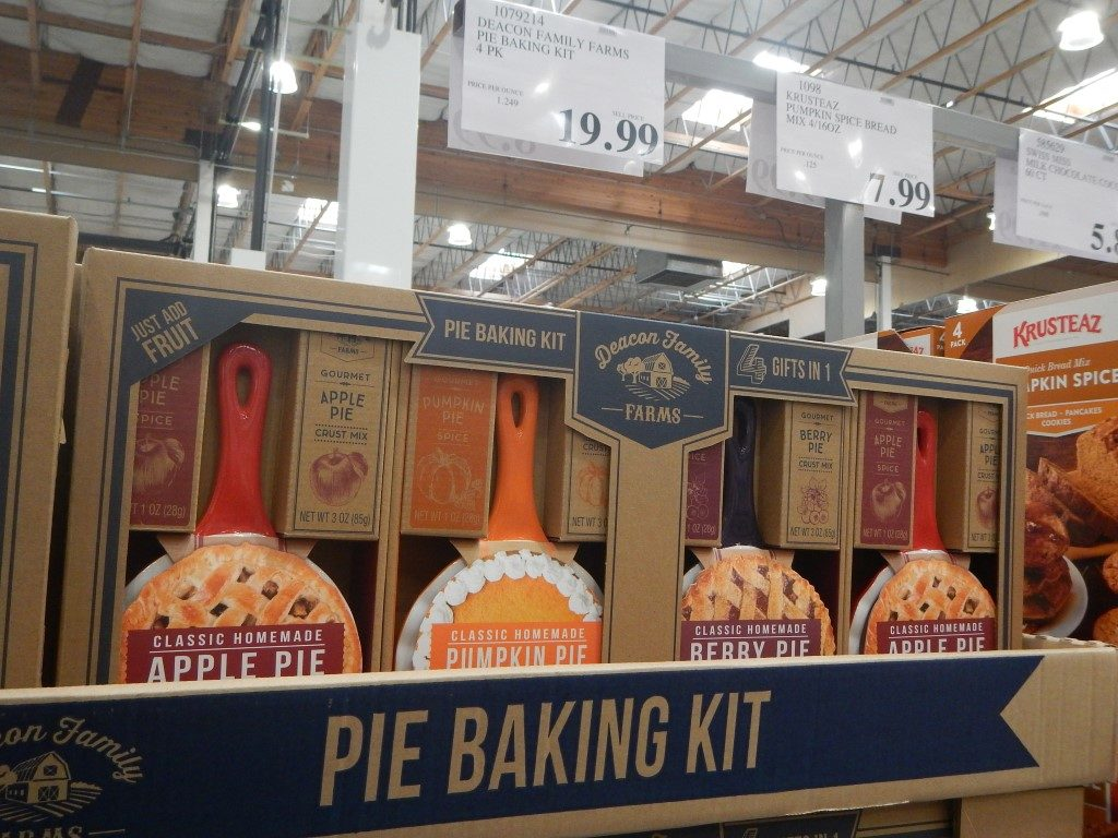 Pie Baking Kit, 4 pack at Costco