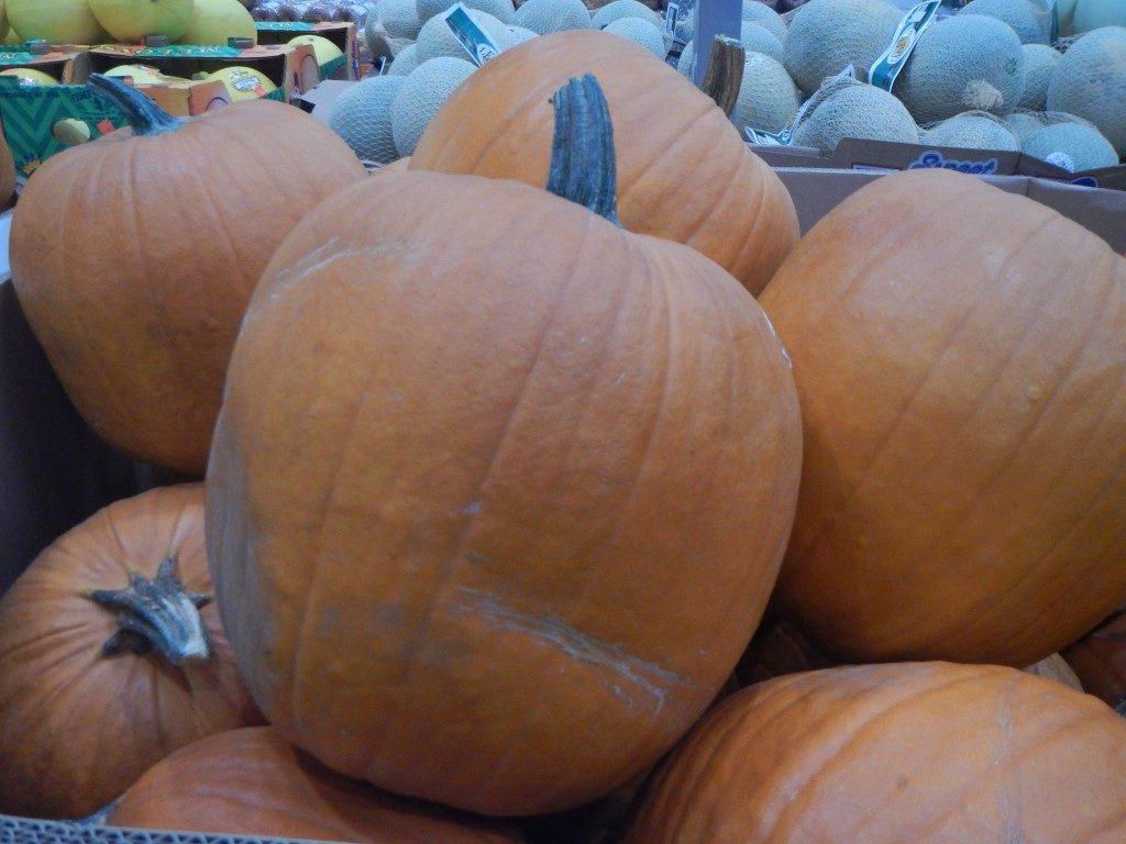 Giant Pumpkins at Costco