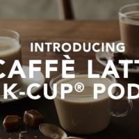Starbucks Caffe Latte K-Cup Pod: FREE Sample