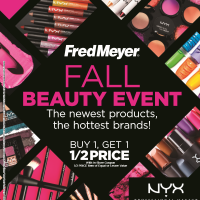 Fred Meyer Fall Beauty Event