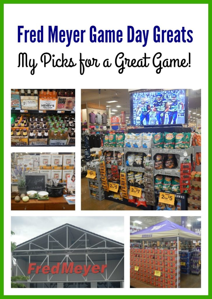 Fred Meyer Game Day Greats: Everything you need for your Football Party!
