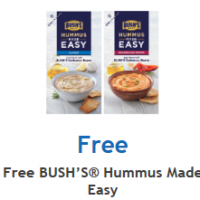 Fred Meyer/QFC/Kroger: FREE BUSH's Hummus Made Easy