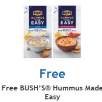Fred Meyer/QFC/Kroger: FREE BUSH's Hummus Made Easy