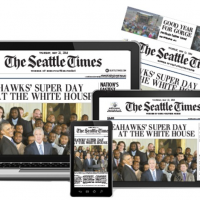 Groupon: One-Year Seattle Times Sunday Print Subscription for $27 (vs. $204.78 newsstand cost!)