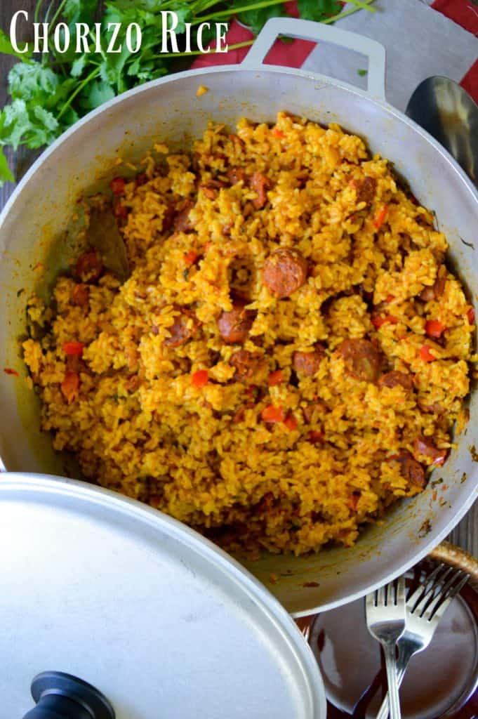 Chorizo Rice Recipe
