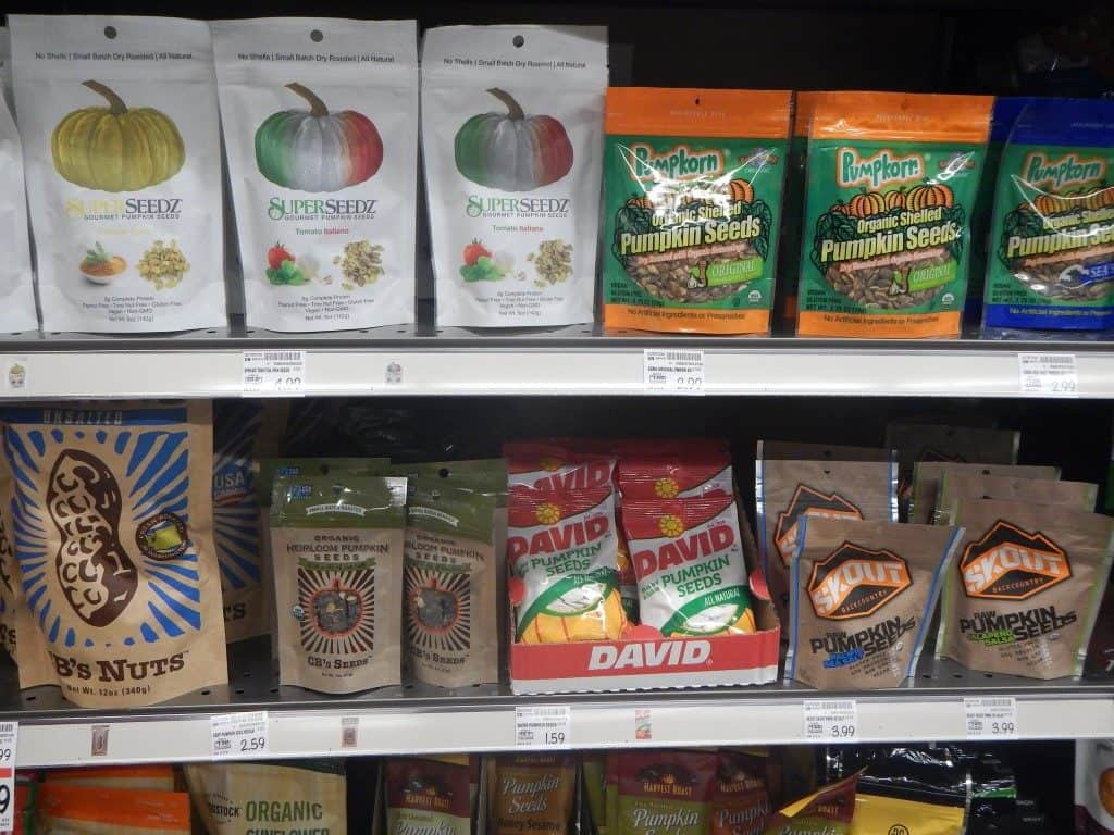 Pumpkin Seeds at Main & Vine