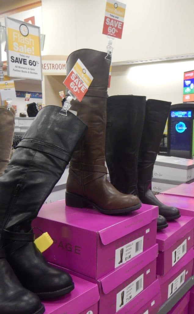 Flash Sale Boots at Fred Meyer