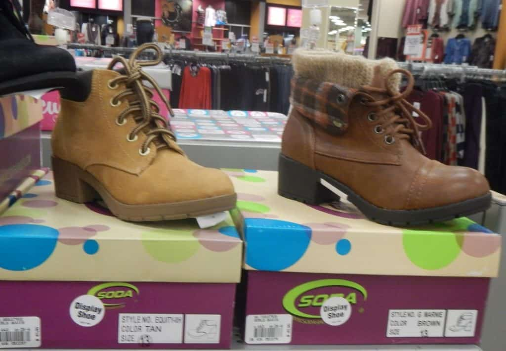 Girls' Boots at Fred Meyer