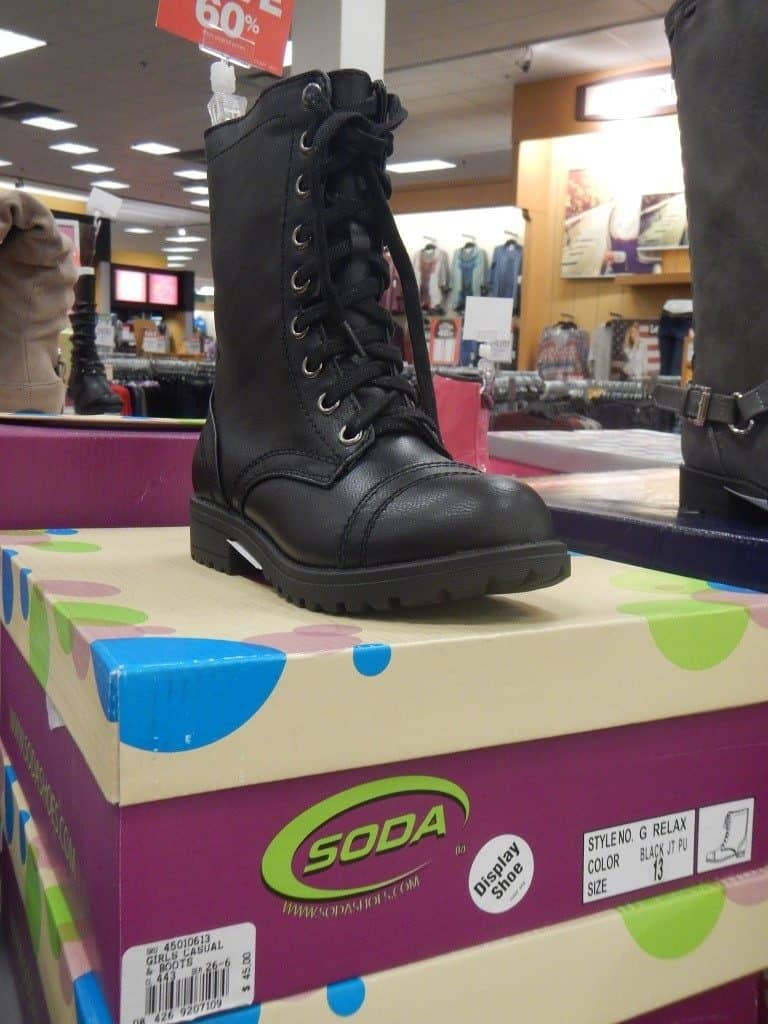 Cute Girl Boots at Fred Meyer