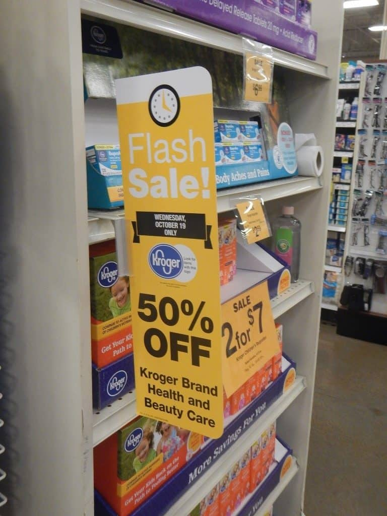 Flash Sale at Fred Meyer