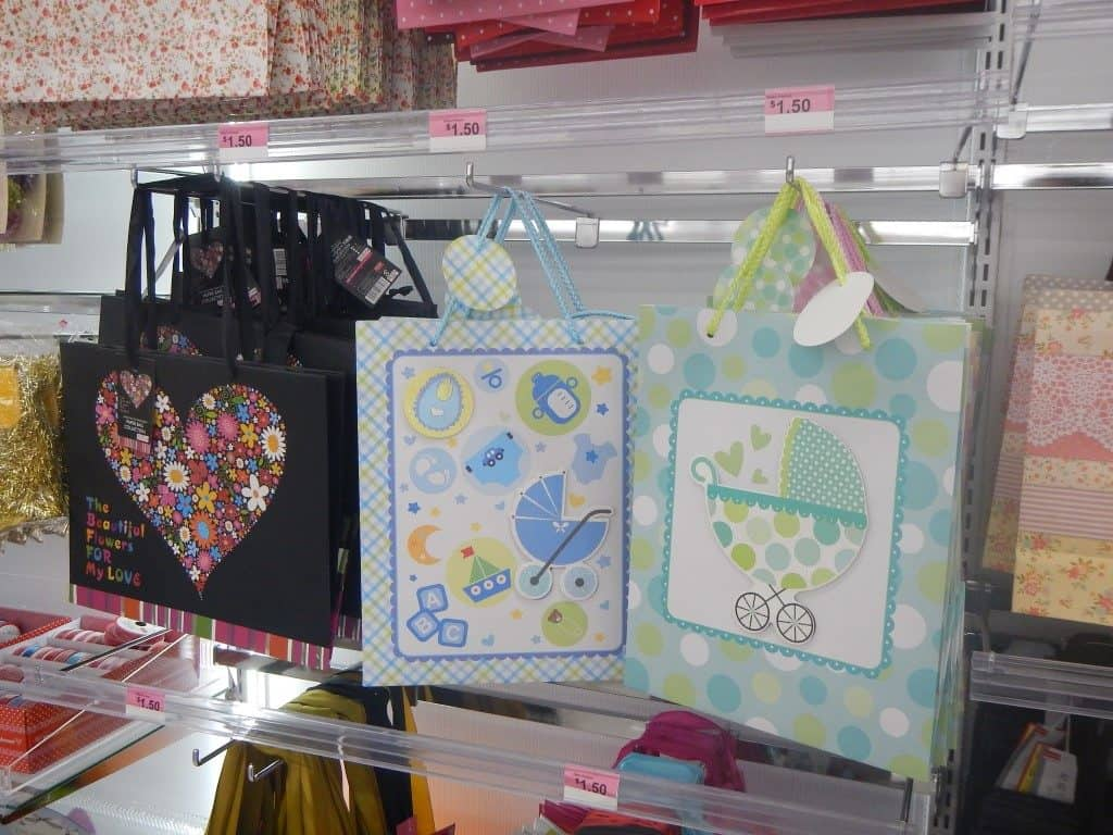 Gift Bags at Daiso