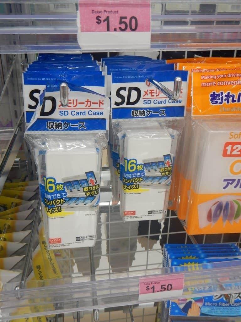 SD Memory Card Case